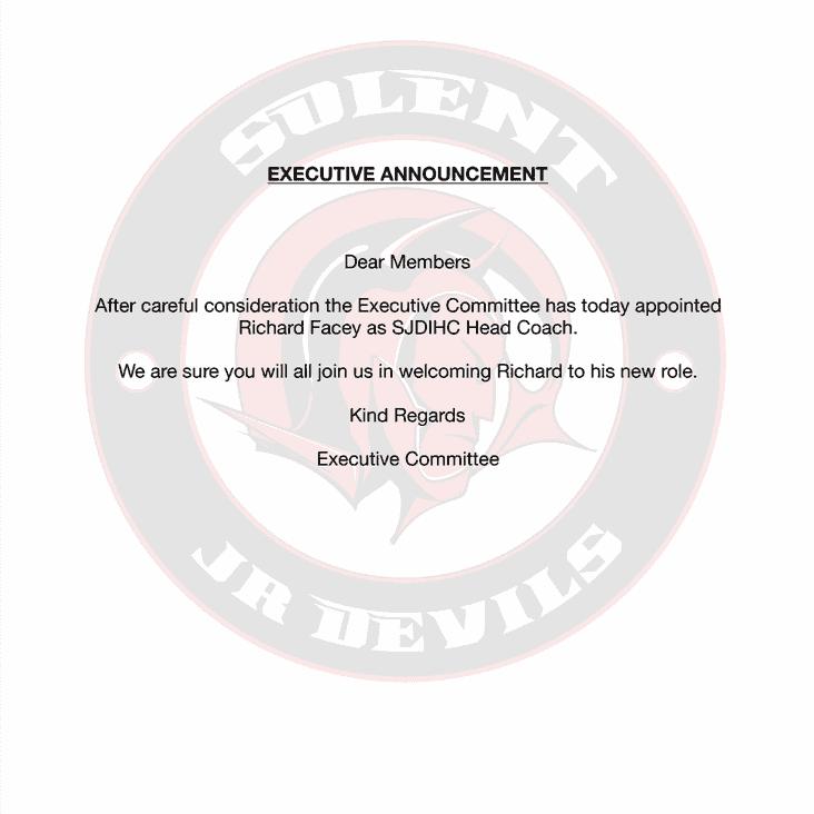 Executive Announcement