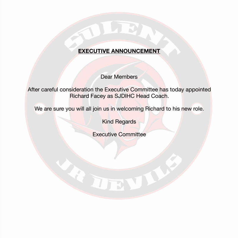 Executive Announcement