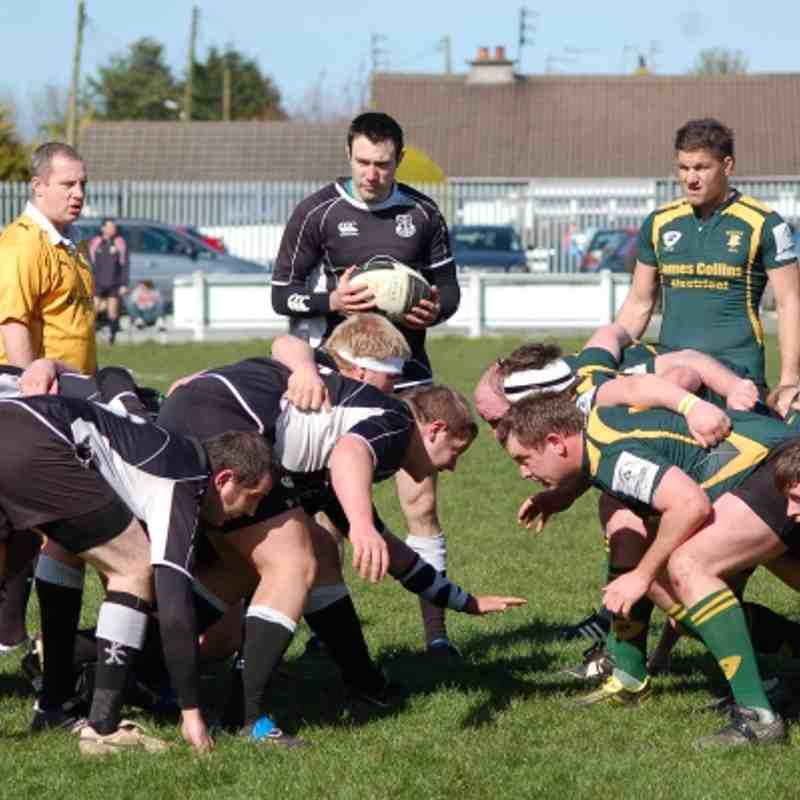 Ards 1sts v Boyne April 2012