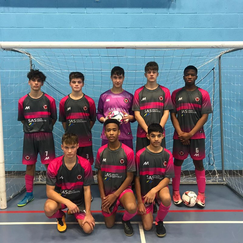 Futsal Masterclass from U15 JPL League leaders