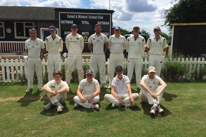Exhall and Wixford CC vs. Old Glassboyians