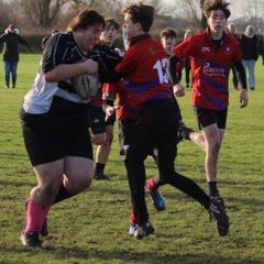 U15's Suffolk Bowl vs Mistley 16/12/18