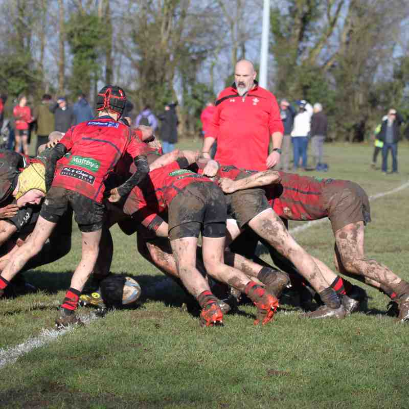 U15s vs Wrexham 4th Feb 2018