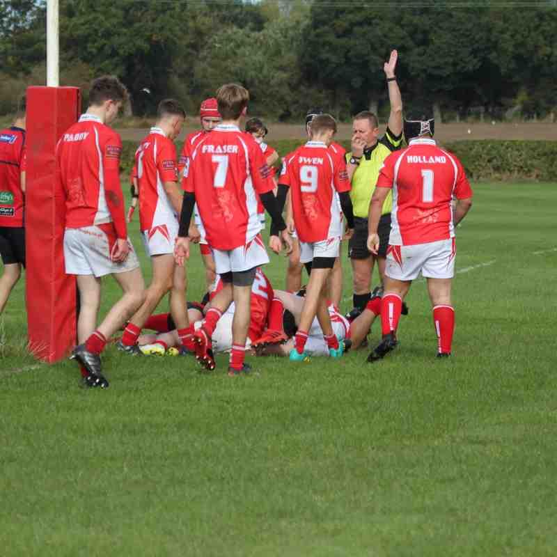 2018/19 U16's vs Whitchurch