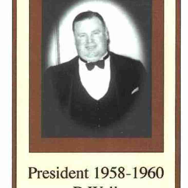 Sefton president 1958 - Barney Wall