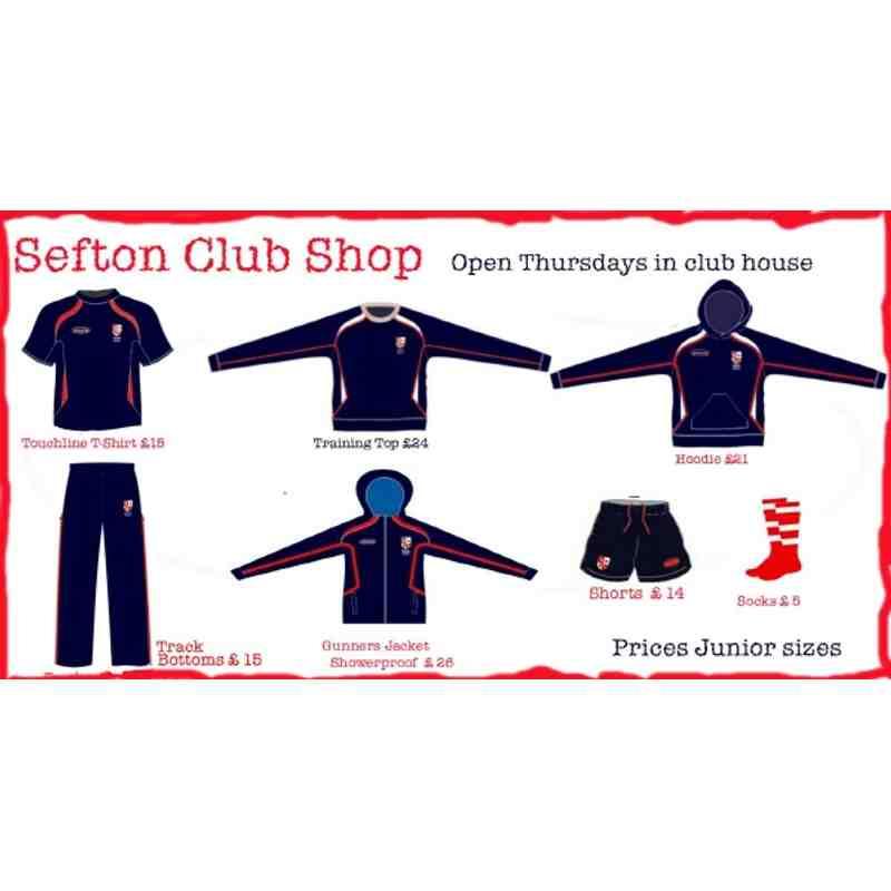 Club Shop (Profit to Club)