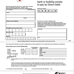 Membership Direct Debit