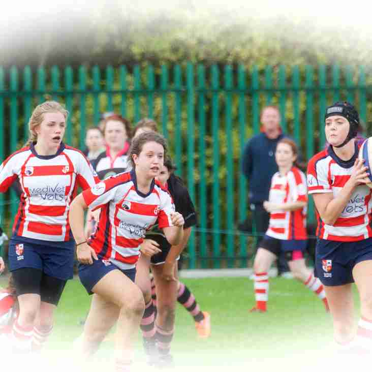 Girls Rugby at Sefton