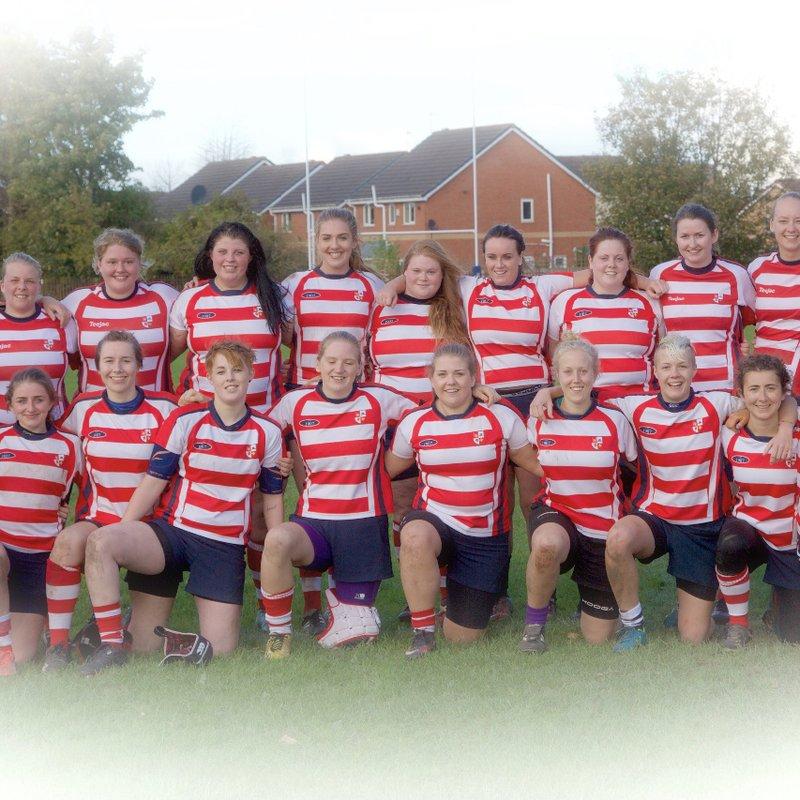 Sefton Ladies lose to Birkenhead Park Ladies 28 - 5