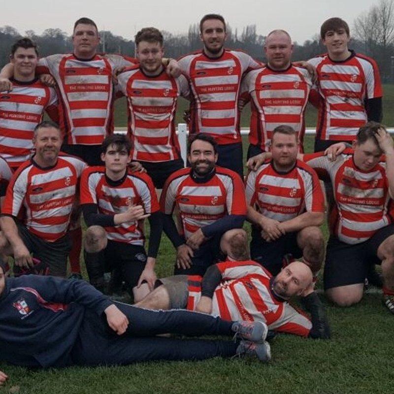 2XV beat New Brighton 2 24 - 5
