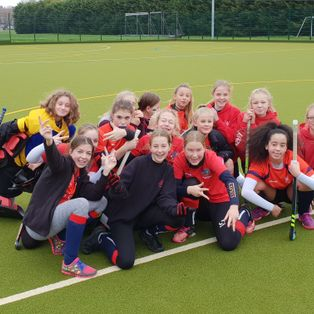 BEHC Under-14 girls canter past Sevenoaks