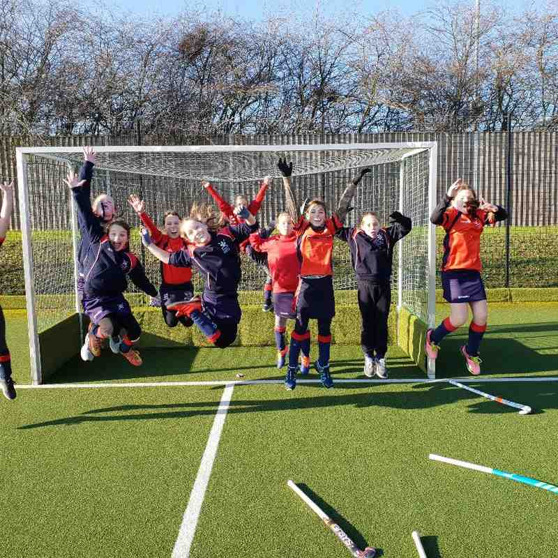 19 Jan 2019 U10 girls at Dartford