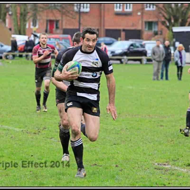 Bridgnorth 1sts v Tamworth (H) 05/04/14