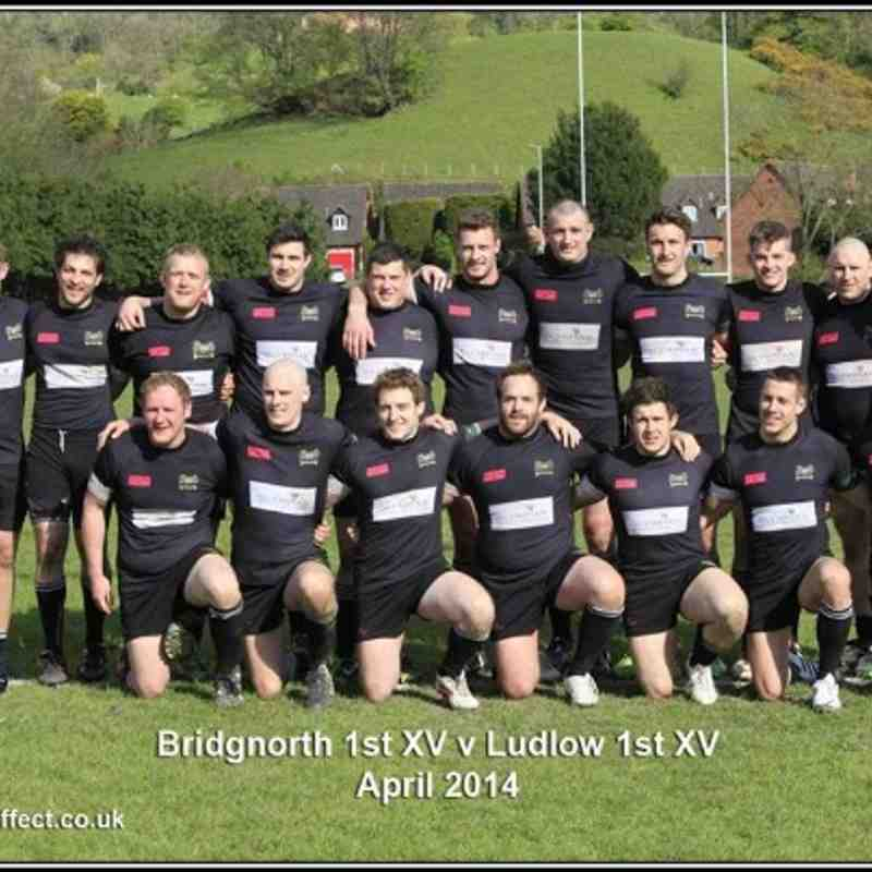 Bridgnorth 1sts v Ludlow (H) 19/04/14