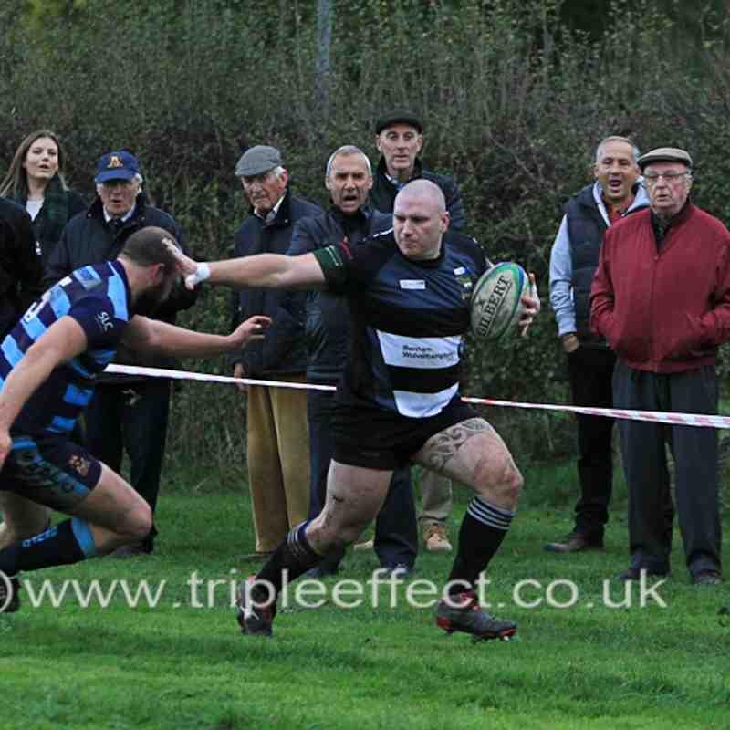 Bridgnorth 1sts v Shrewsbury (H) 01/11/14