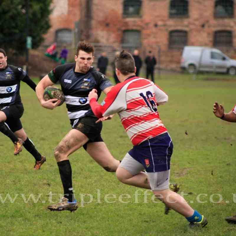 Bridgnorth 2nds v Handsworth (H) 31/01/15