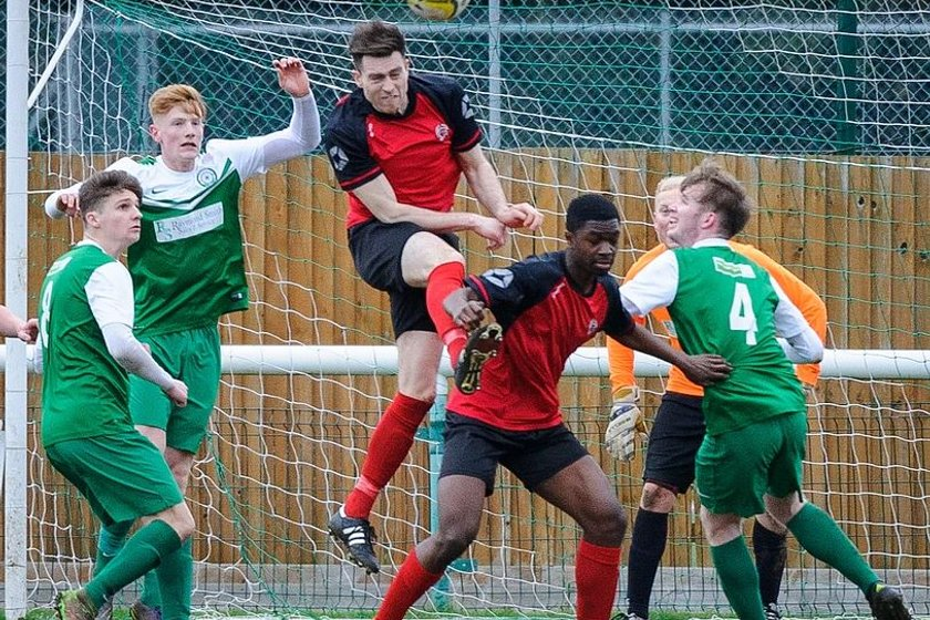 HARES BOW OUT OF MIDDLESEX SENIOR CUP 0-1  TO HARROW BOROUGH
