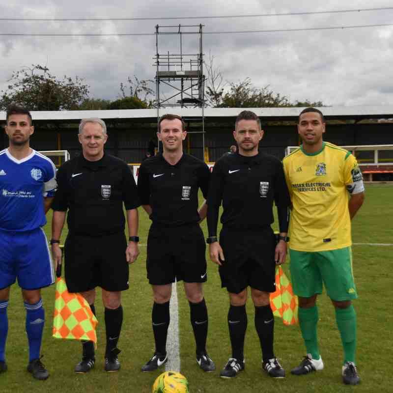 Saturday 7th October 2017 - Thurrock FC
