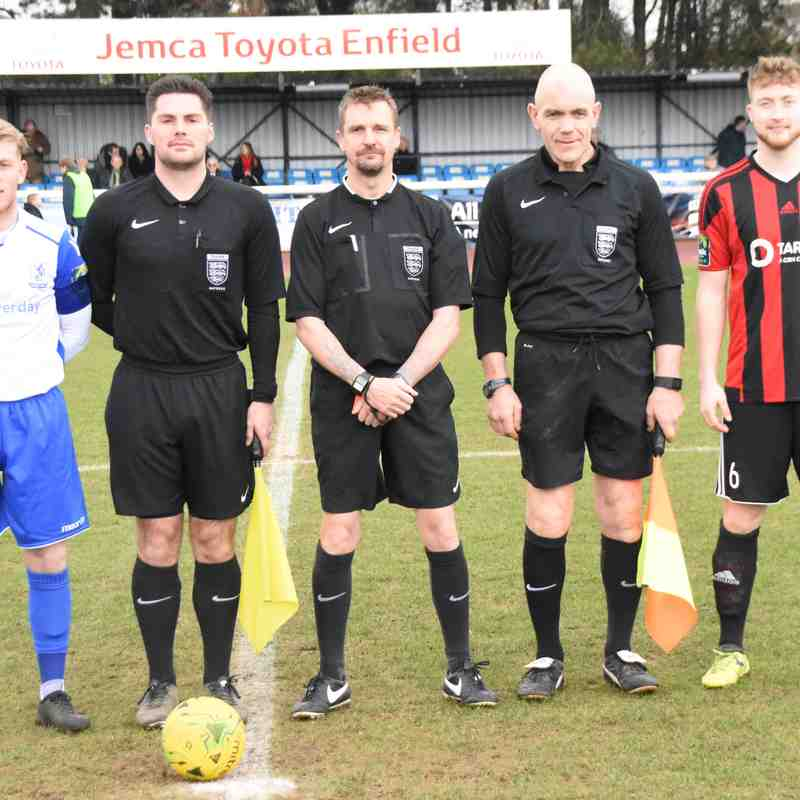 Saturday 31st March 2018 - Enfield FC