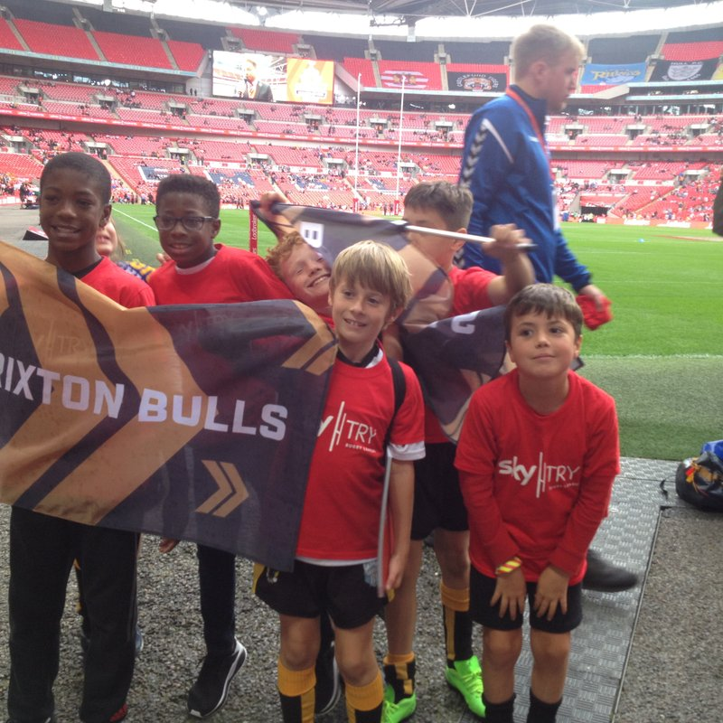 Mini Bulls at Wembley