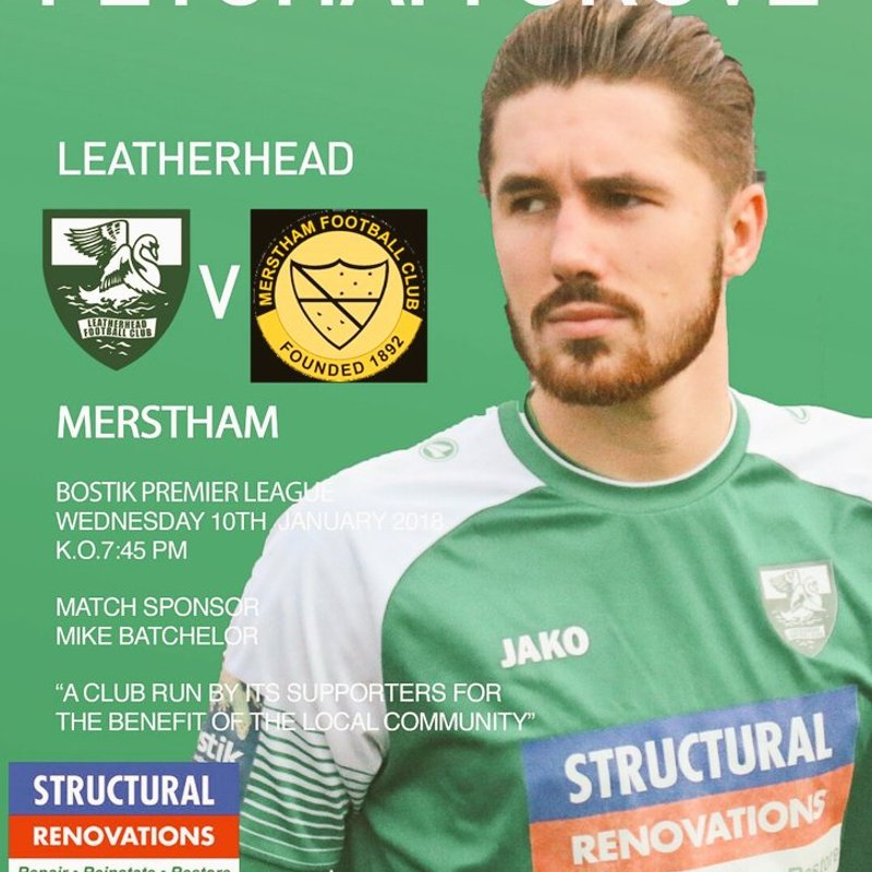 Leatherhead triumph over Merstham