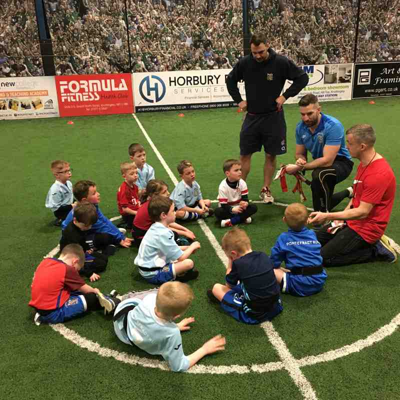 Under 7s Training at Football Factory