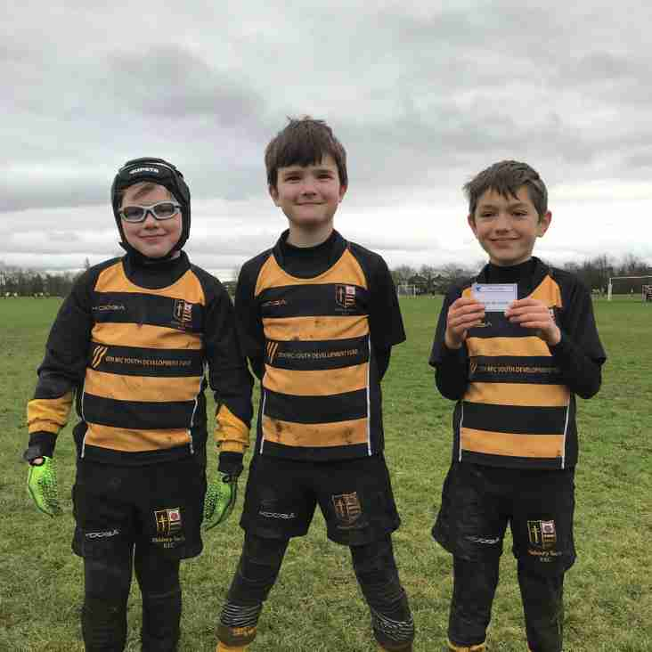 UNDER 9'S PLAYERS OF THE WEEK