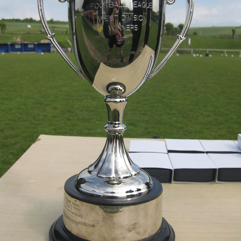 Under 18'S Presented as League Cup champions