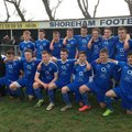 """U18  - League champions -  adding to county Cup for double glory in first season"""""""