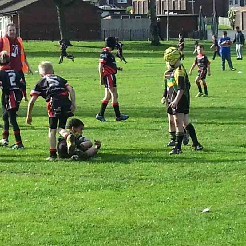 Normanton V St Joes under 8's 20-10-13