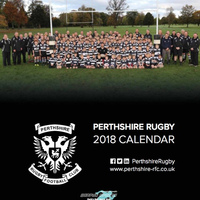 Perthshire Rugby 2018 Fundraising Calendar