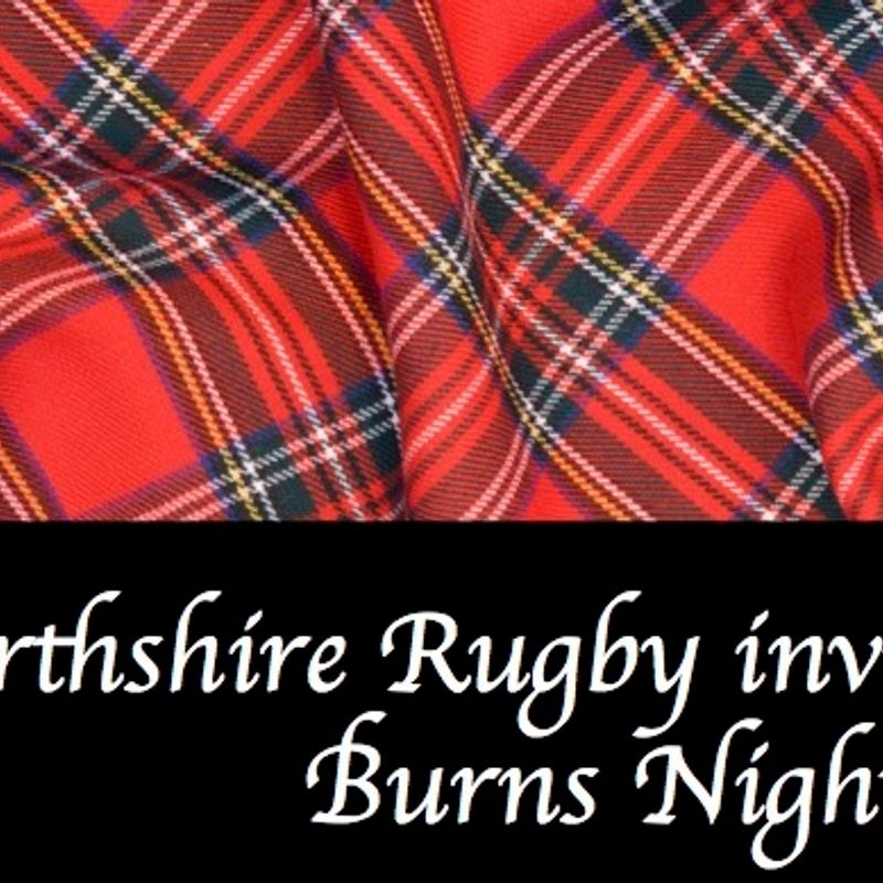 Perthshire Rugby Burns Night