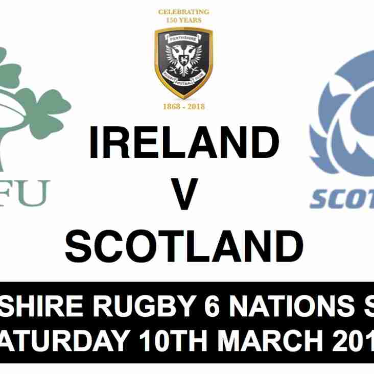 Perthshire Rugby 6 Nations Socials