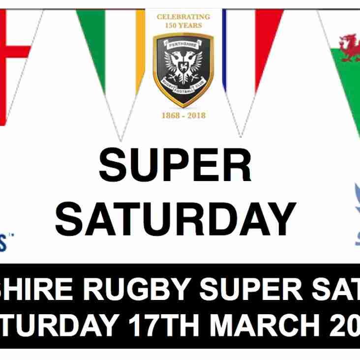 Super Saturday - this Saturday!