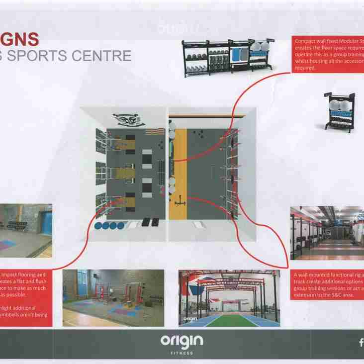 Perthshire Rugby has secured funds for new strength & conditioning facility