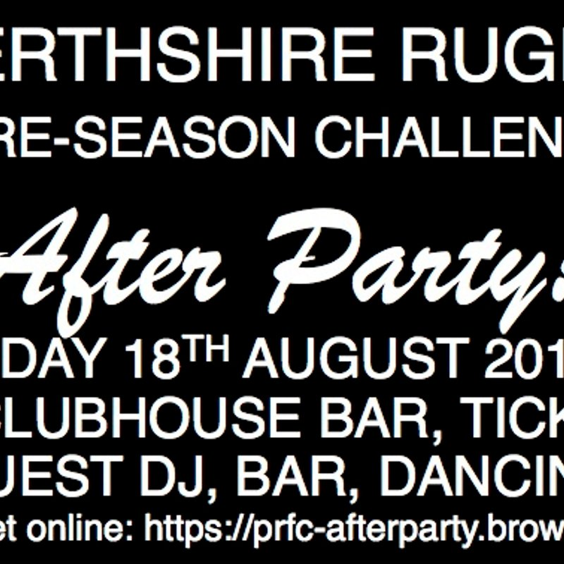 Preseason Challenge AFTER PARTY!
