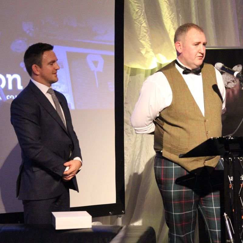 Jeremy Wares' Scottish Rugby Award