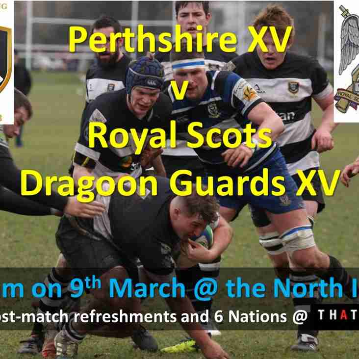 Rugby History on the North Inch this Saturday!