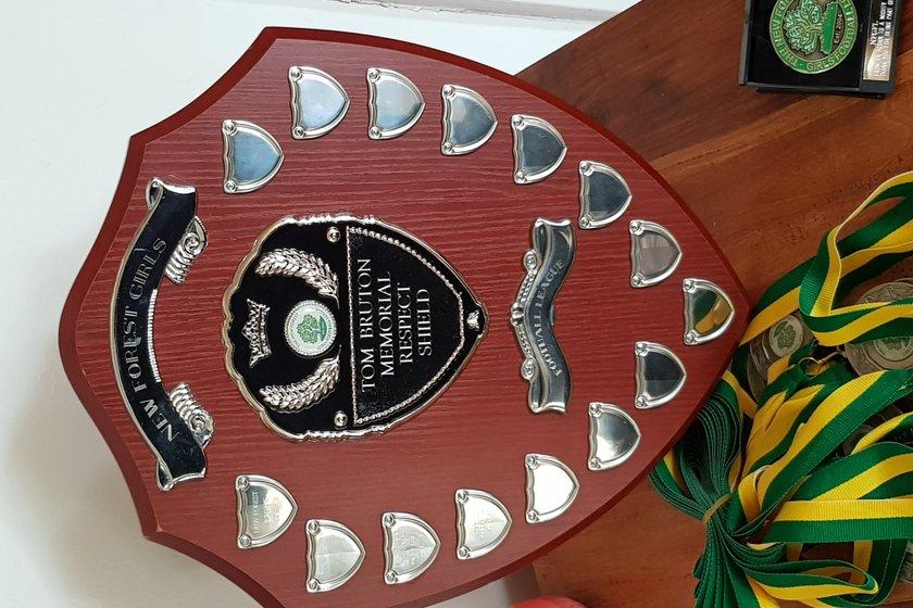 Sway Girls U14s Win Respect Award