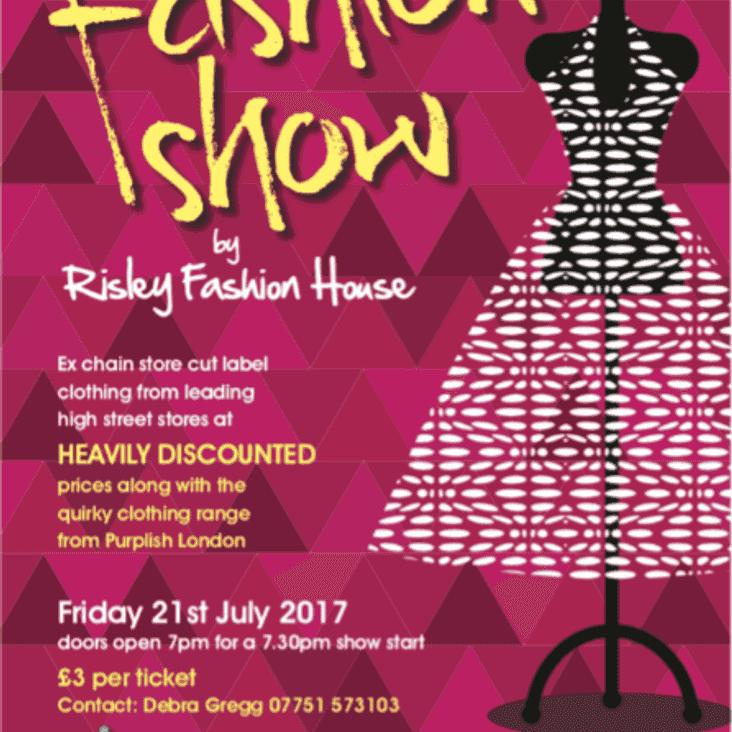 Fashion show at Long Eaton United