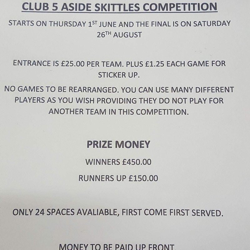 Street FC Skittles Competition
