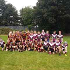 Morley Under 13's play Shawcross in a recruitment game for both teams