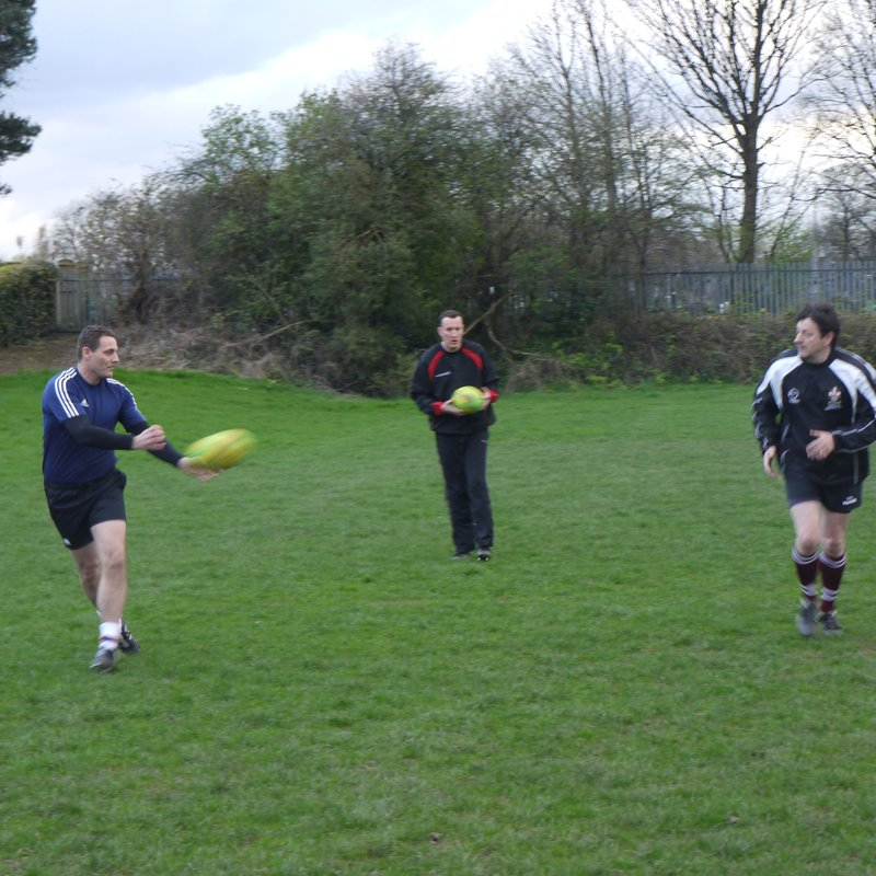 Touch and pass on Saturday this week 2pm kick off