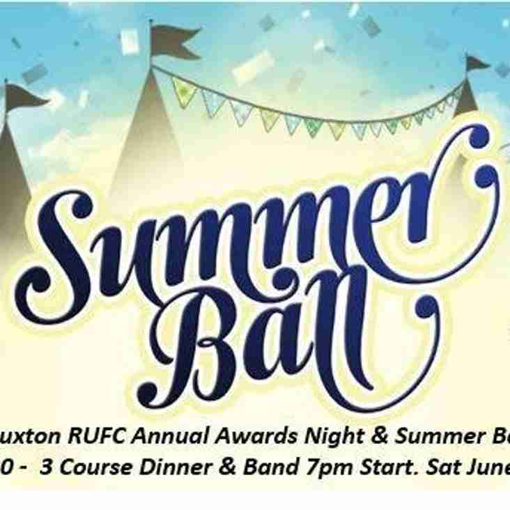Summer Ball 25th June