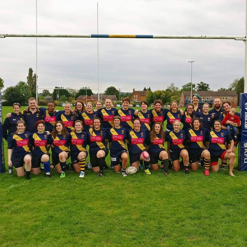 Ladies XV lose to Peterborough Ladies 22 - 15
