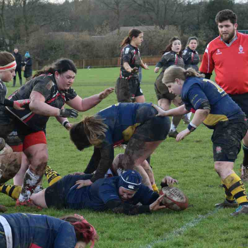 Five Ways OE Ladies V Rugby Lionesses