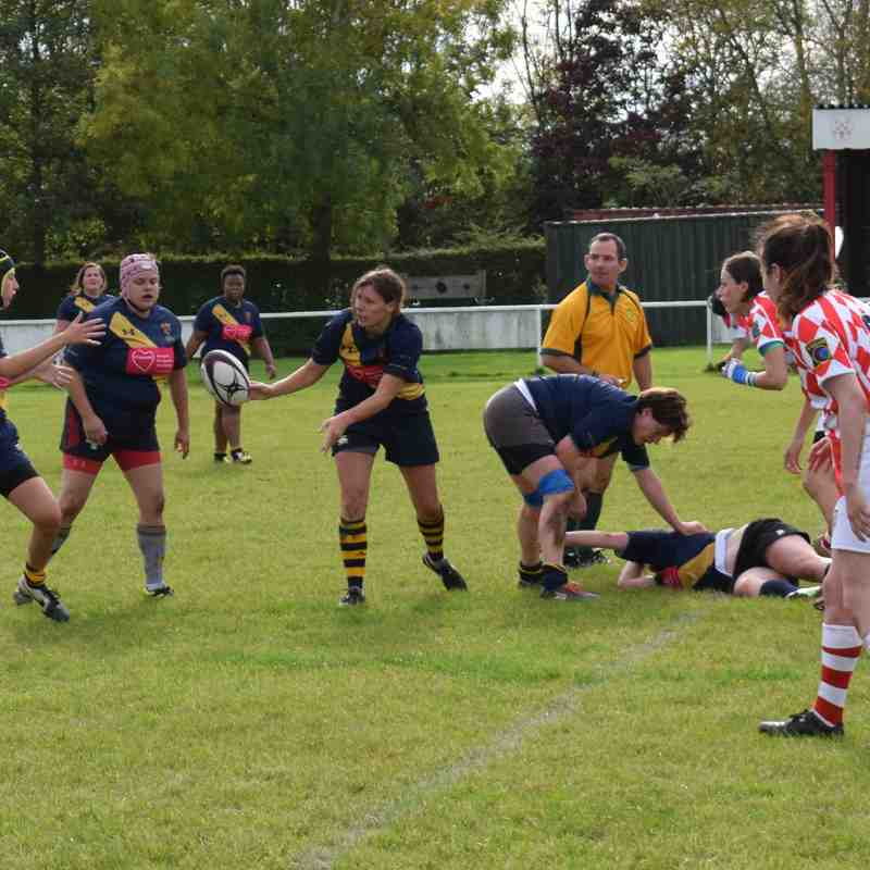 Wellingborough Ladies V Five Ways Ladies 8/10/17