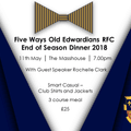 End of Season Awards and Dinner