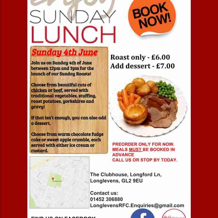 Sunday Roasts Launch