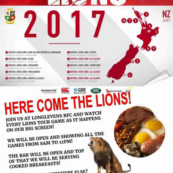Join Us For The Lions!
